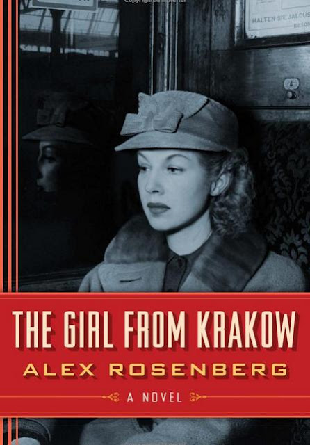 The Girl from Krakow by Alex Rosenberg - book cover
