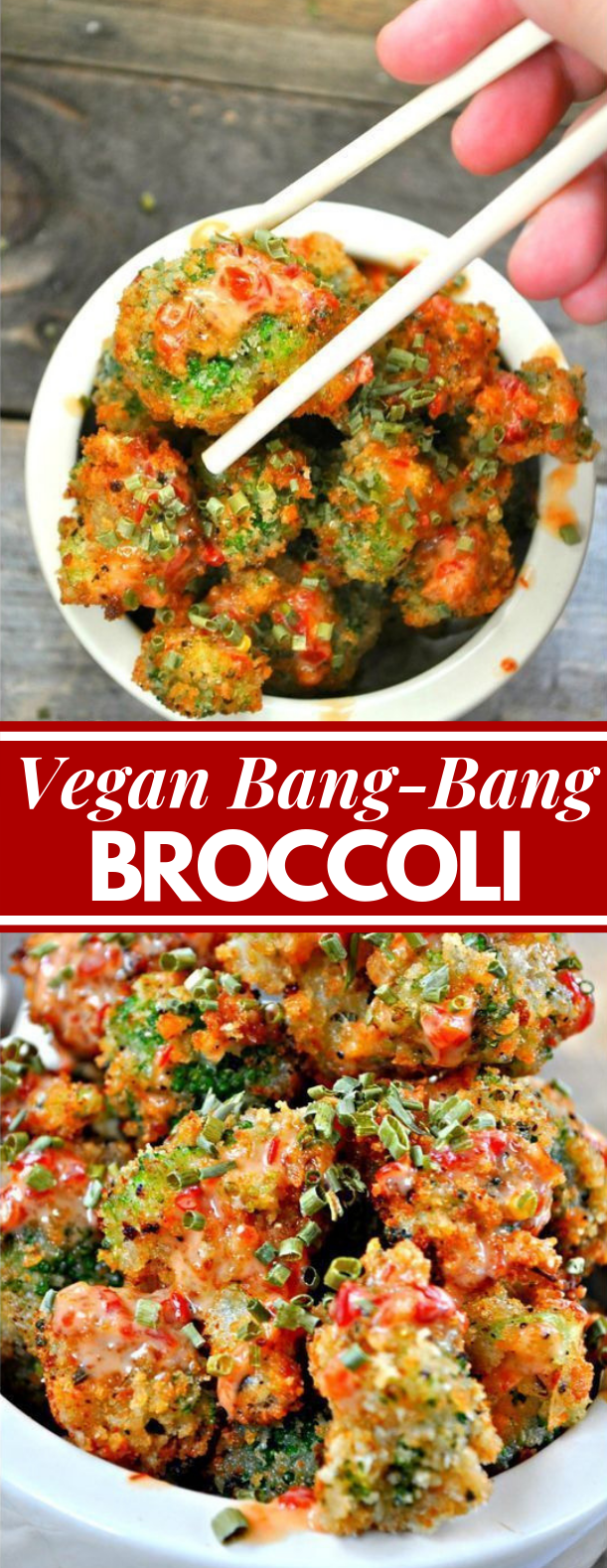 Vegan Bang Bang Broccoli #veganrecipe  #spicy