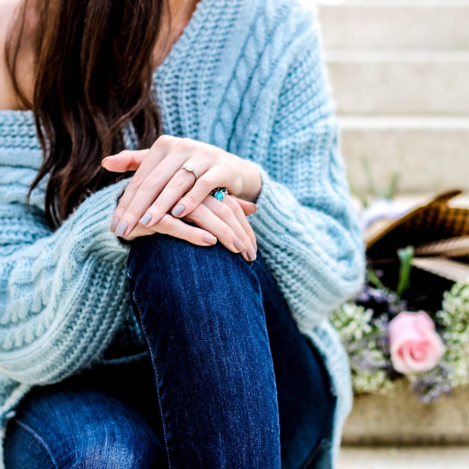 ed4dc818ec Carolina Sky Blue Sweater - Pretty in the Pines