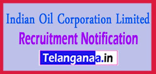 IOCL Indian Oil Corporation Limited Recruitment Notification 2017 Last date 29-05-2017