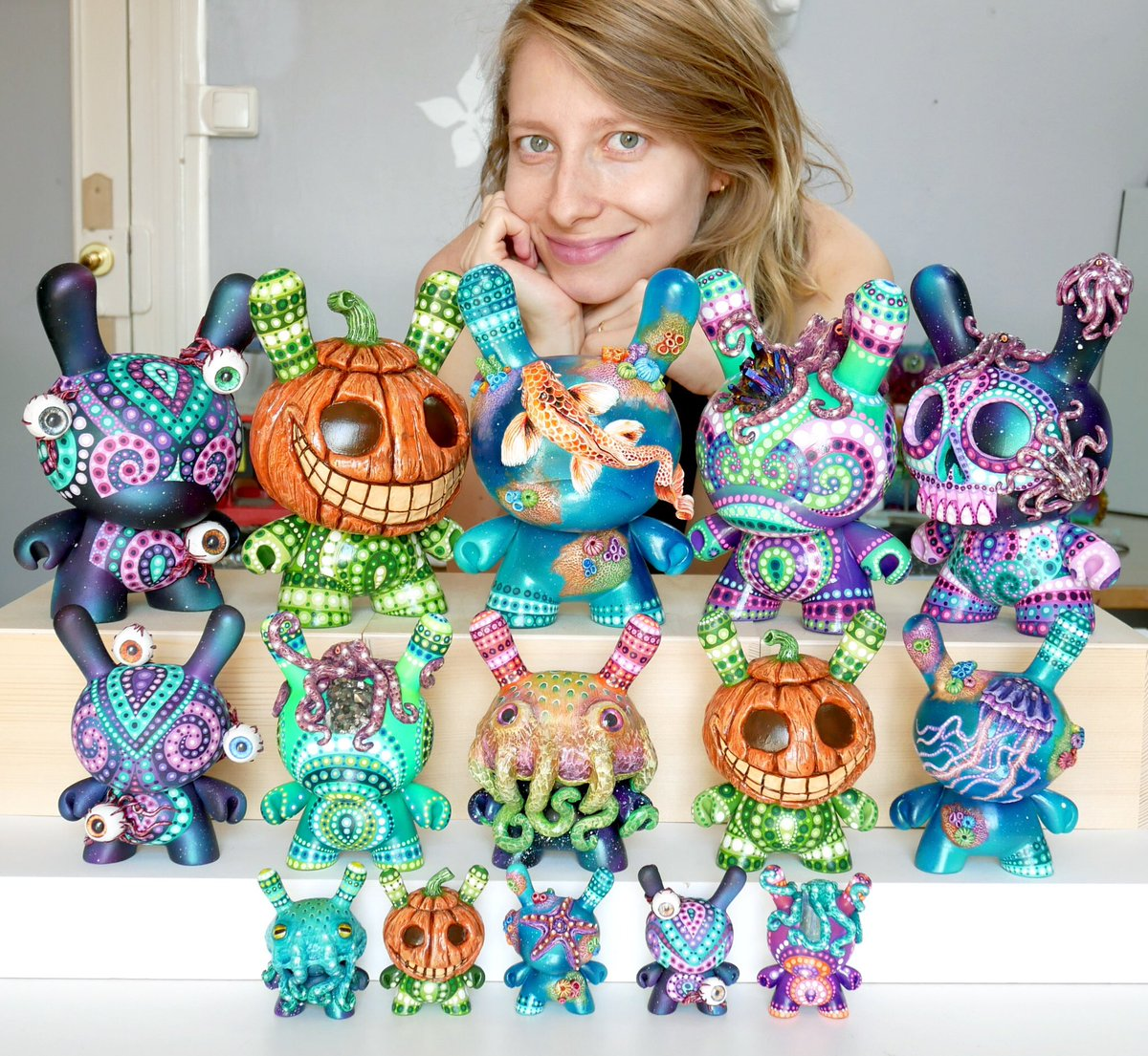 9cd62c35f0b8e0 Gorgeous Custom Dunny Series from MP Gautheron