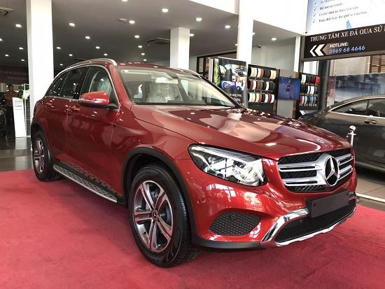 Giá xe Mercedes GLC 300, Giá lăn bánh xe GLC 300, cập nhật chương trình kh