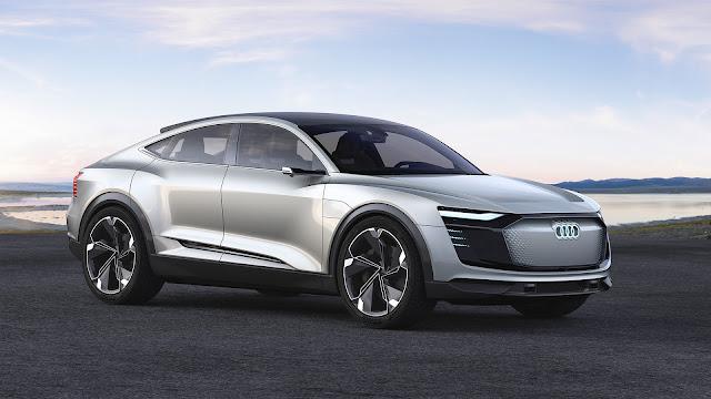 Coche eléctrico Audi 2019