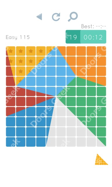 Cheats, Walkthrough for Blocks and Shapes Level 115