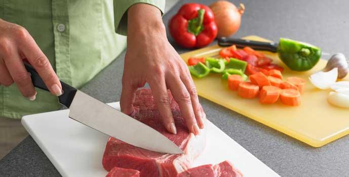 enfermedades por carne mal cocida