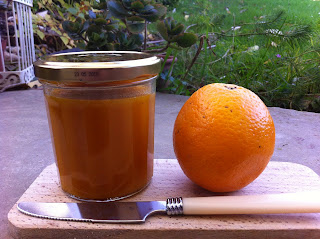 confiture potimarron pommes orange