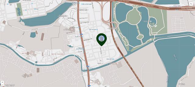 vị trí đắc địa PĐ Green Park
