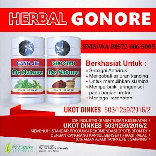 Obat De Nature untuk penyakit Go