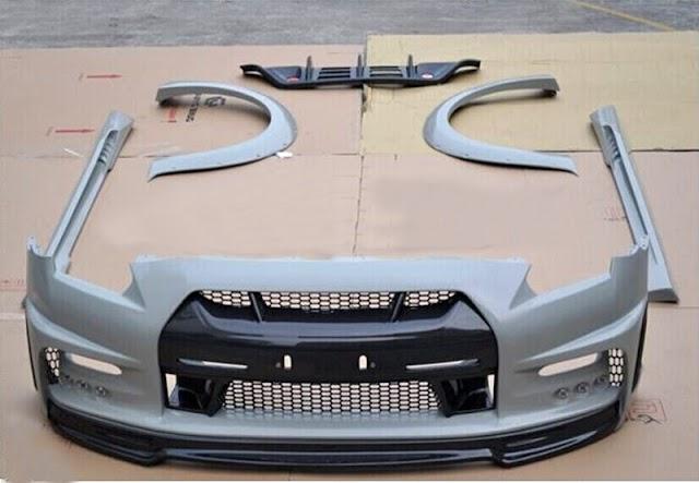 Body Kit Mobil Bahan Plastik VS Fiber Bagusan Mana ?