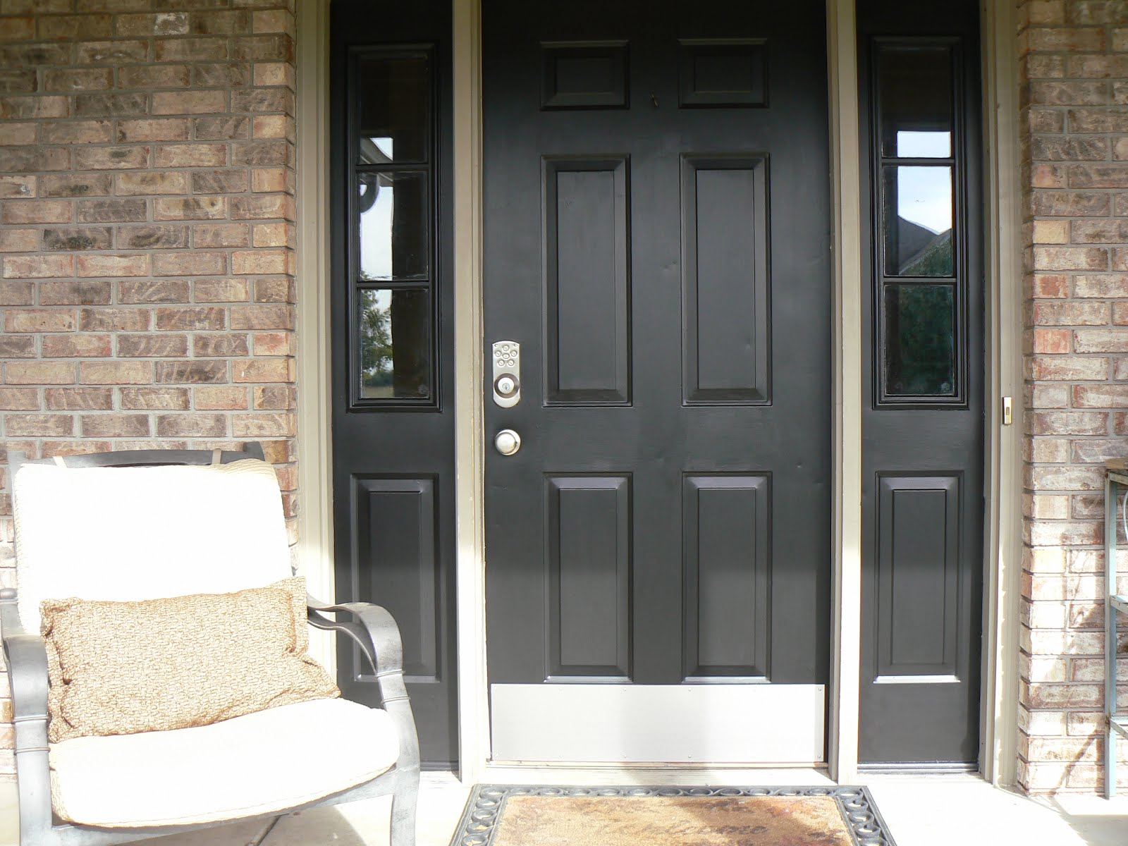 Front Door Makeover | Little House Design