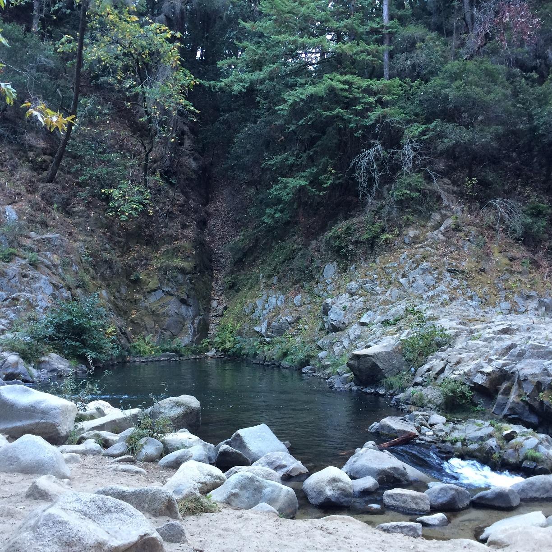 Hiking Garden Of Eden Santa Cruz United States