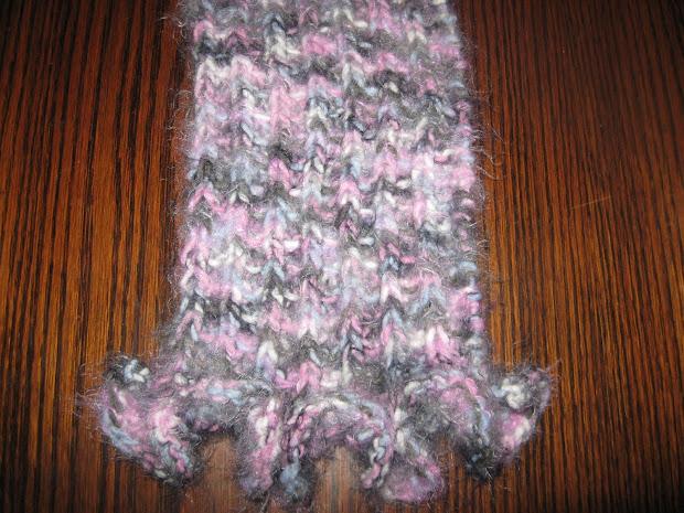 yarn owl angel hair scarf