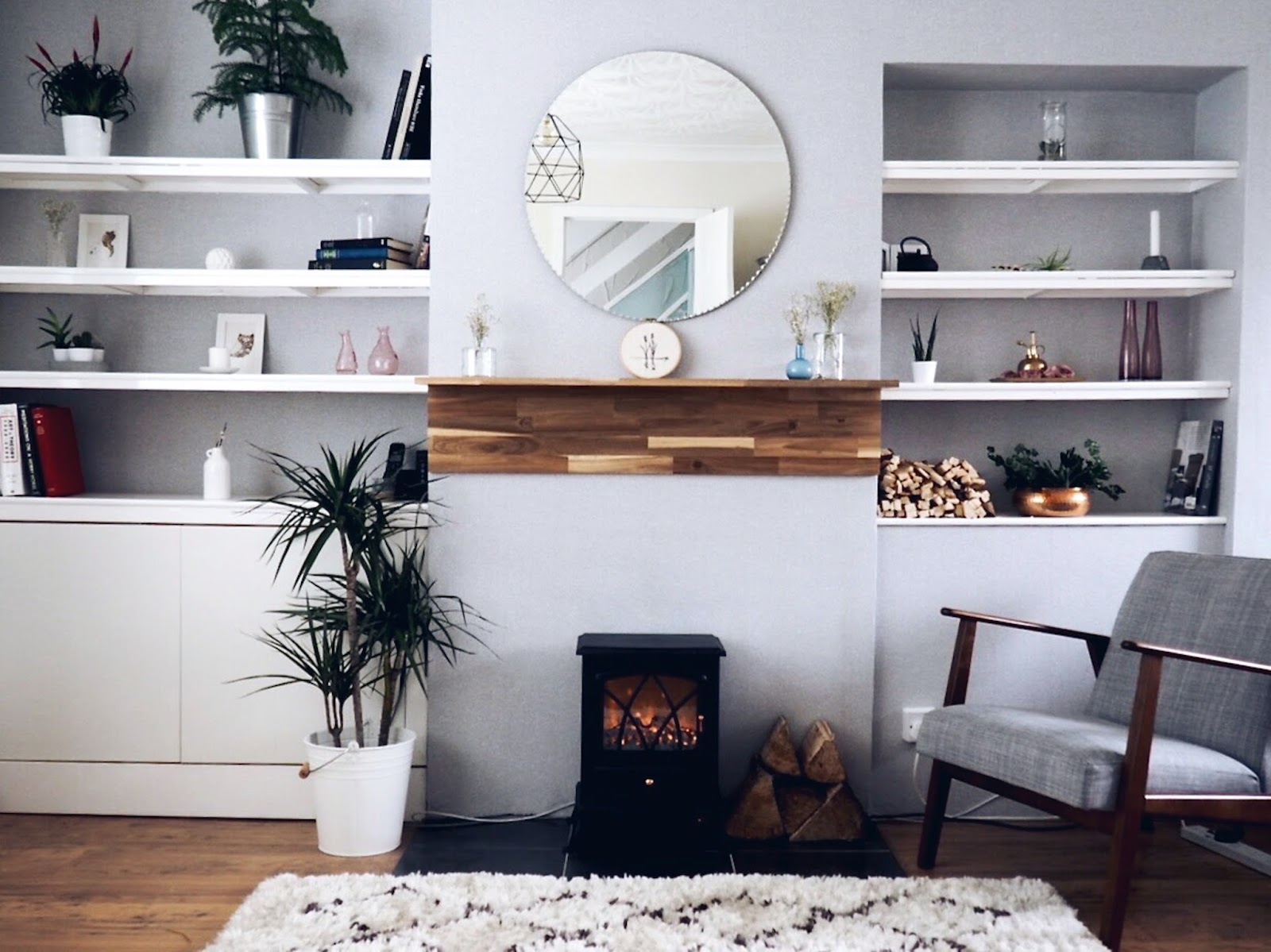 creating scandi style on a budget