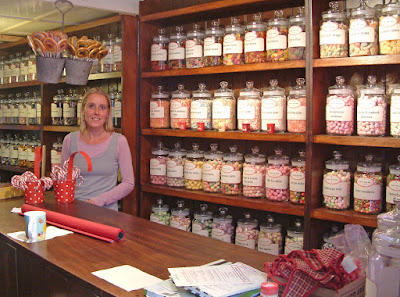 Proprietor Natalie Sankey in her Brigg sweet shop which she announced in January 2019 has been sold