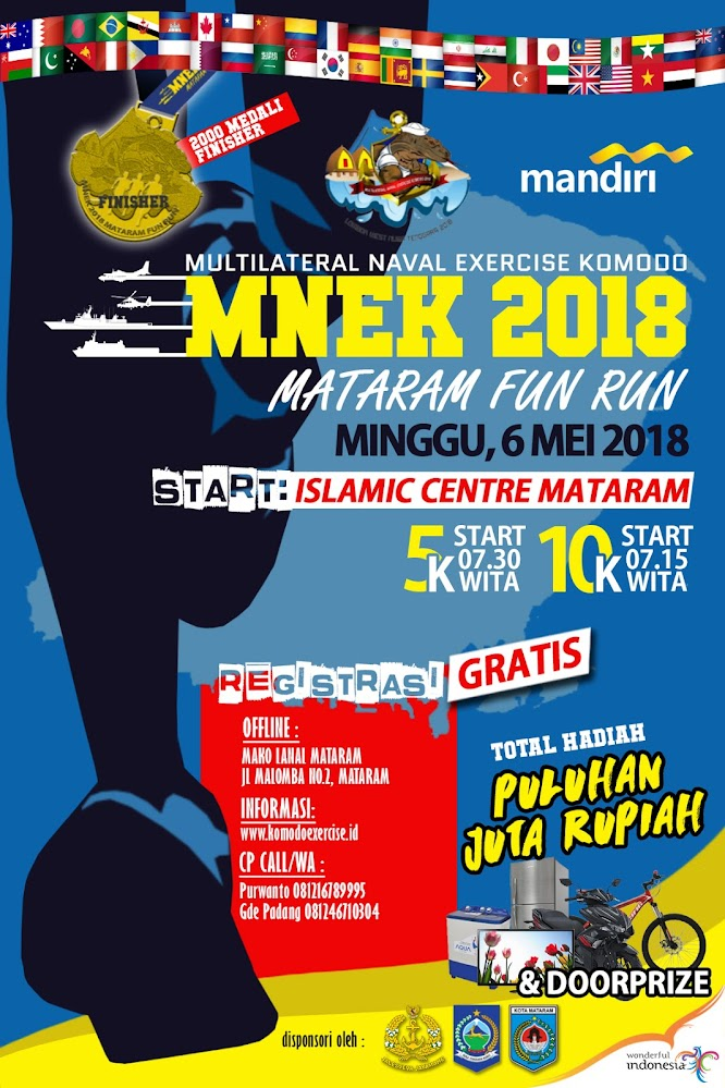 MNEK 2018 - Mataram Fun Run • 2018