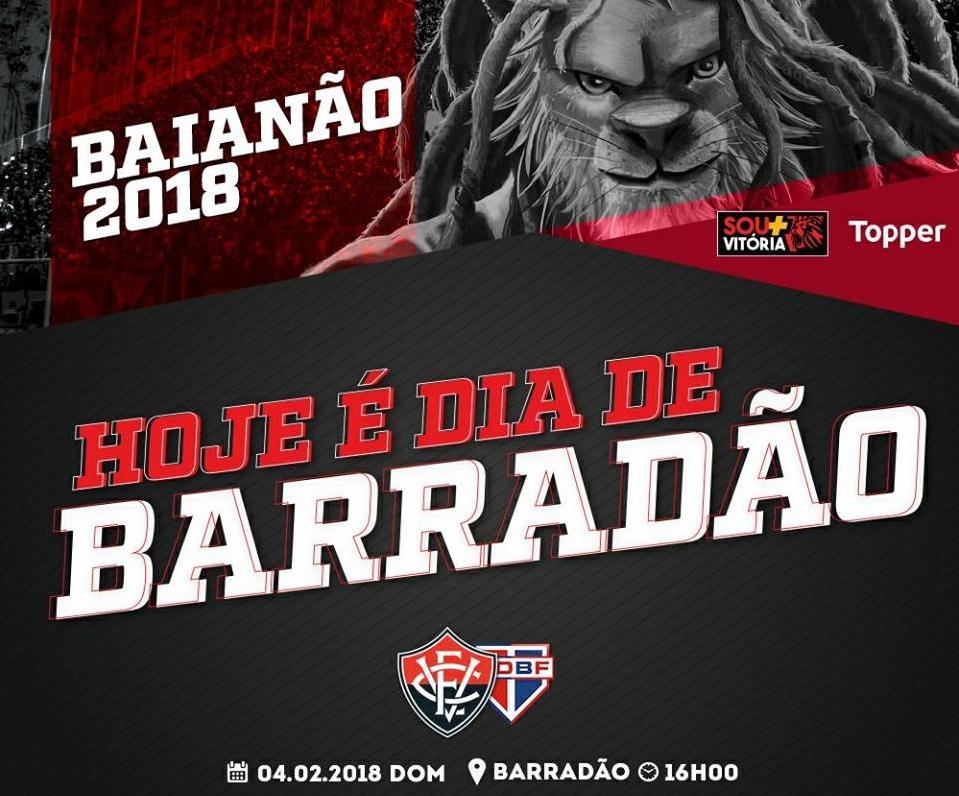 Assista Vitória x Bahia de Feira ao vivo HD pelo Campeonato Baiano as 16H 1