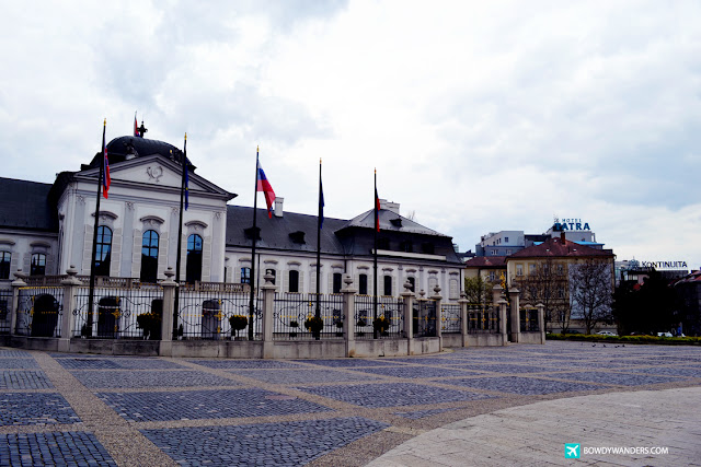 bowdywanders.com Singapore Travel Blog Philippines Photo :: Slovakia :: I Photographed Slovakia's Presidential Palace And It Looks Historical