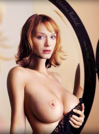 Christina hendricks fake nudes