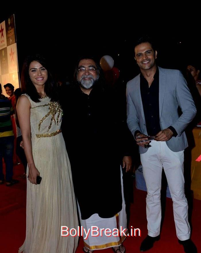 Prahlad Kakkar, Asha Negi Simone Singh Hot HD Images At Star Parivaar Awards 2015 Photo Gallery