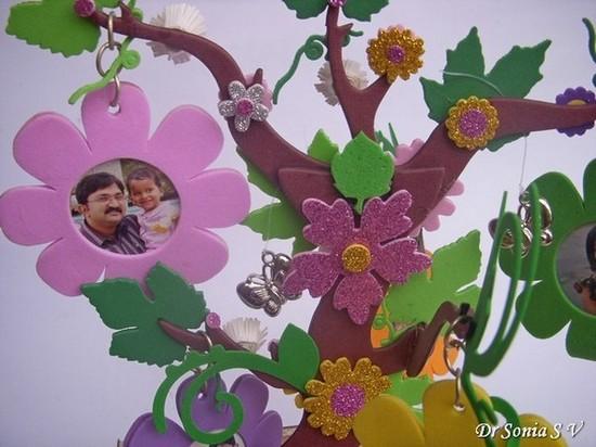Cards ,Crafts ,Kids Projects: DIY Photoframes - Foam Crafts
