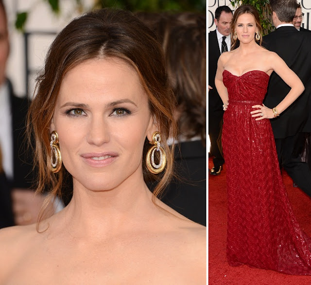Jennifer Garner - Celebrity Earrings Trend 2013