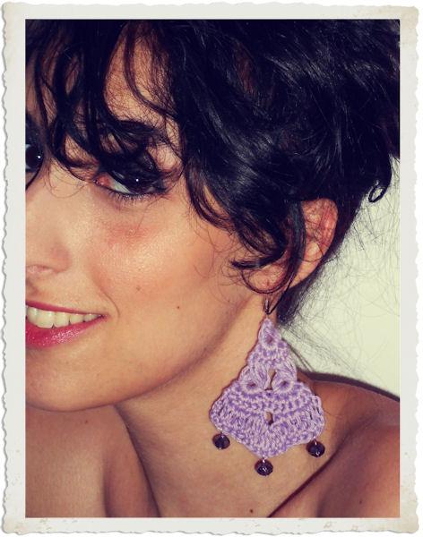 Stefania Isgro orecchini handmande uncinetto