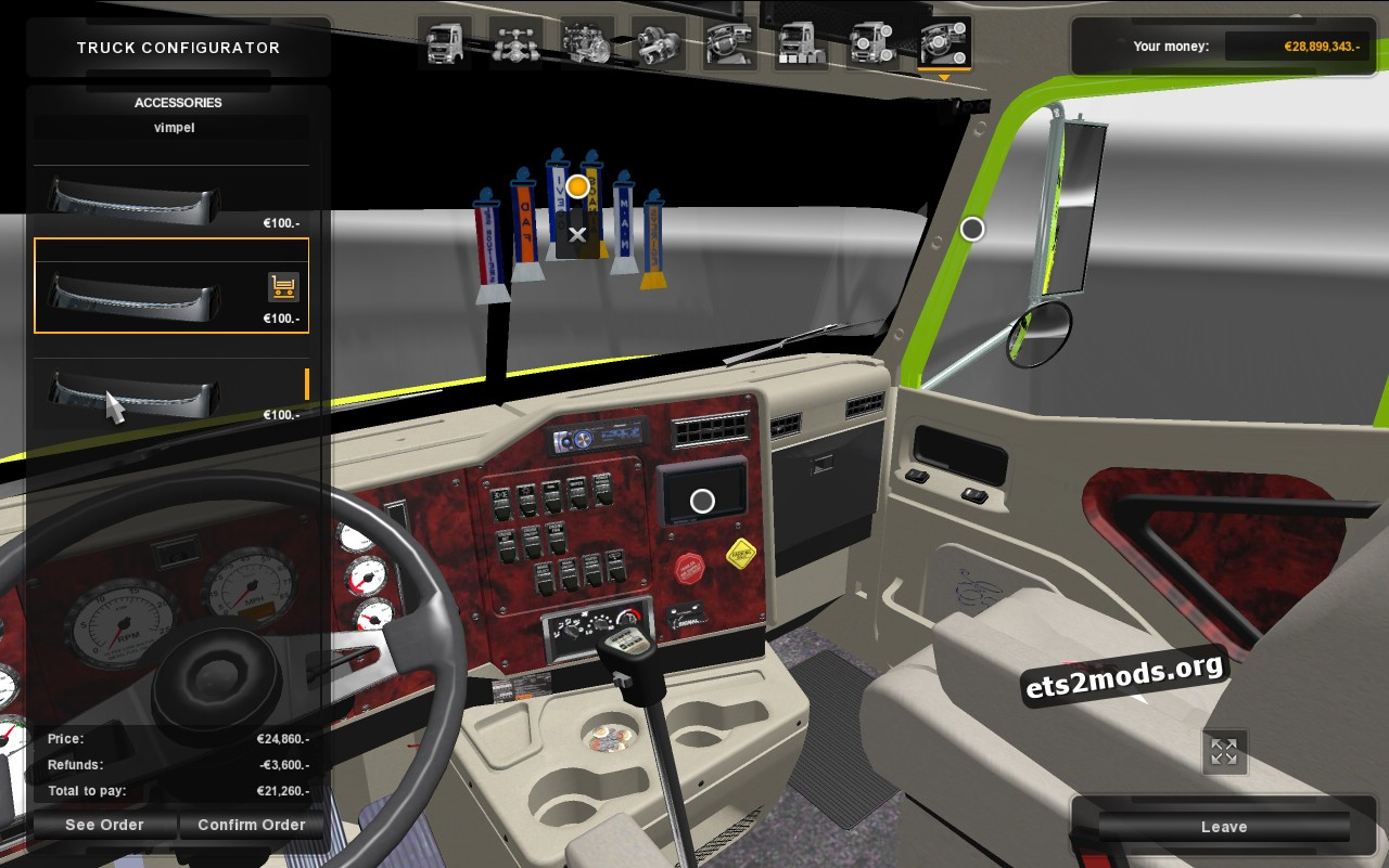 Truck Internacional i9400