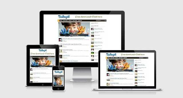 TdbSimple2 responsive blogspot template