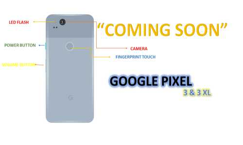 Google Pixel 3 and Google Pixel 3XL will be launched soon