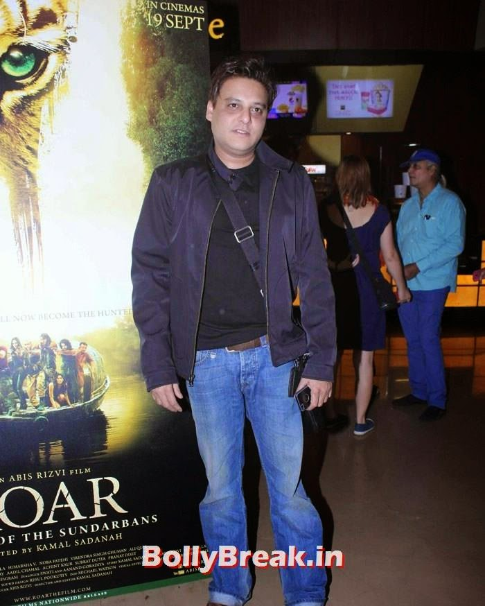 Abis Rizvi, Celebs at 'Roar' Movie First Look Launch