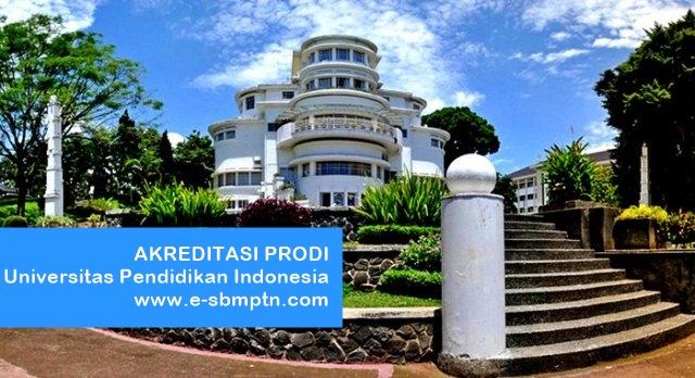 Akreditasi Prodi UPI