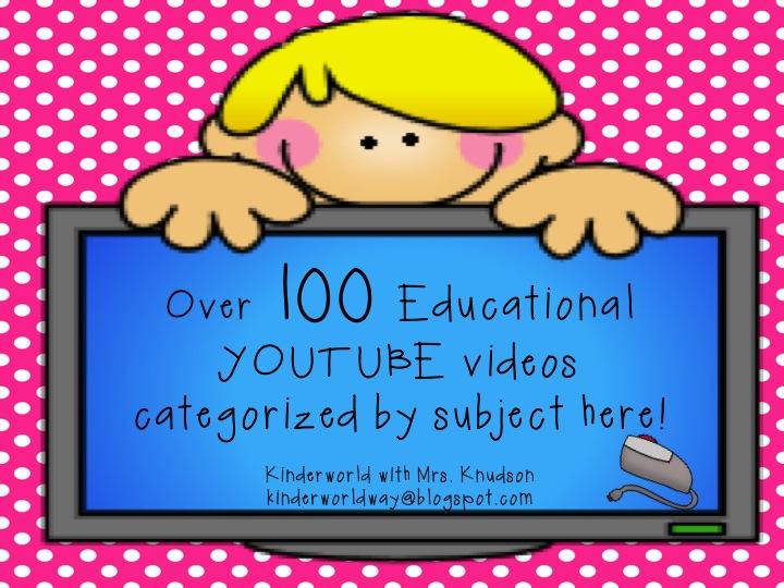 KINDERWORLD: Educational YOUTUBE Videos