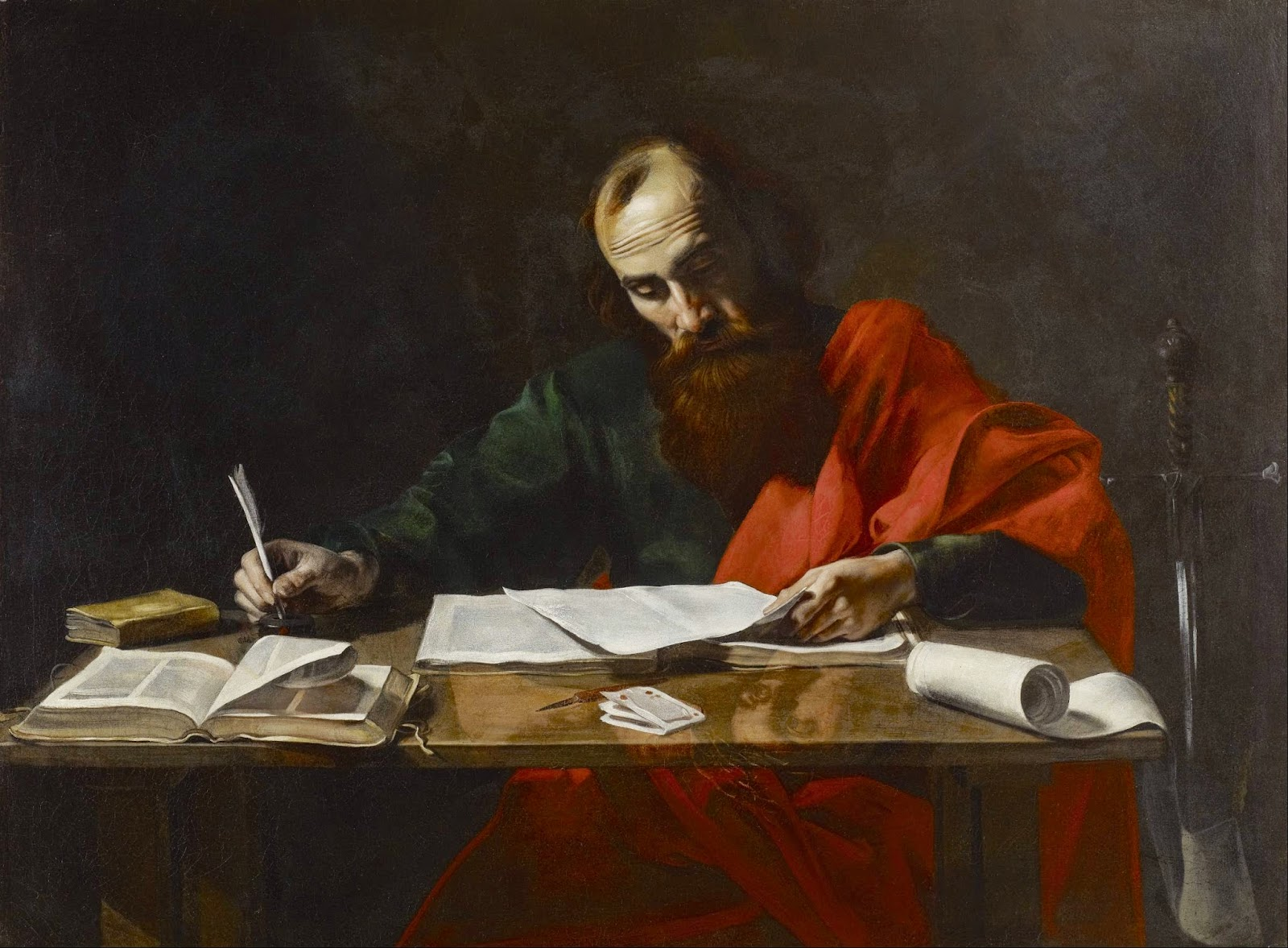 St Paul Writing