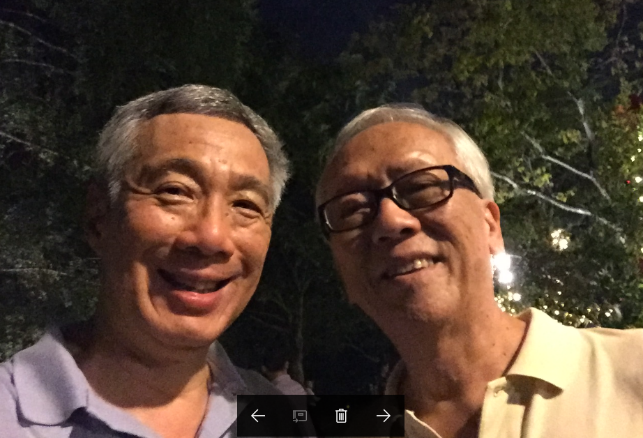 PM LEE MEETS ANDY @ THE GARDENS