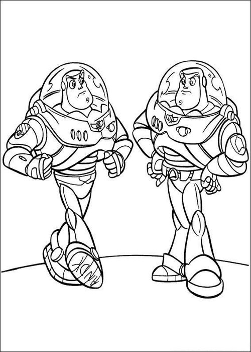 toy stoy coloring pages | Toy Story Coloring Pages For Kids >> Disney Coloring Pages