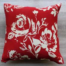 Red Rose Decorative Throw Pillows, Covers in Port Harcourt Nigeria
