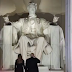 Its Hilarious !! Abraham Lincoln statue shows Middle Finger to Trump on his Presidential Ceremony;