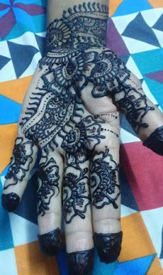 darken henna