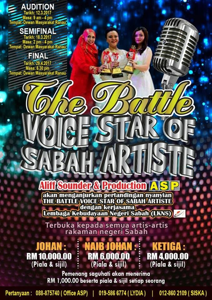 The Battle Voice Star of Sabah Artiste