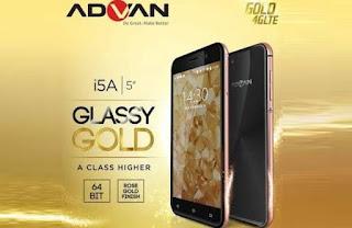 Advan i5A Glassy Gold