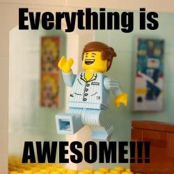 """Lego Star Wars """"Everything is Awesome"""""""