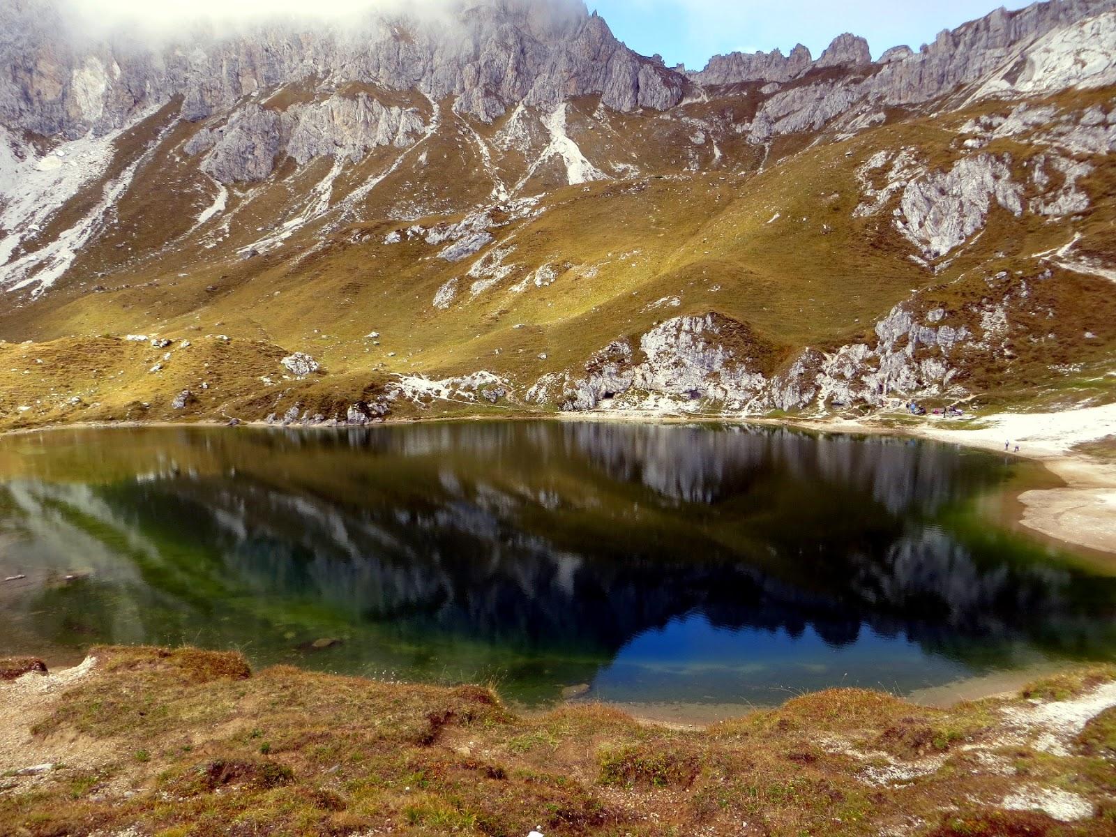 giro dei laghi d'olbe a sappada