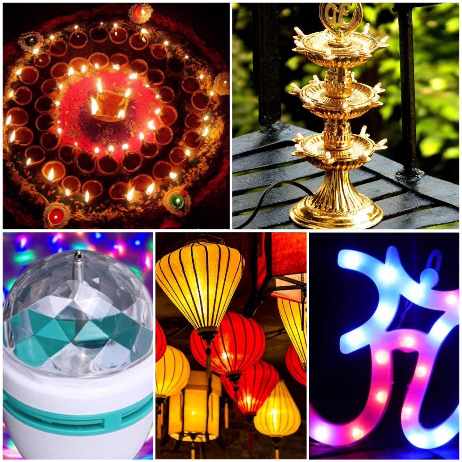Light Decoration Diwali 15 Different Types Of Diwali Lights And Lamps With