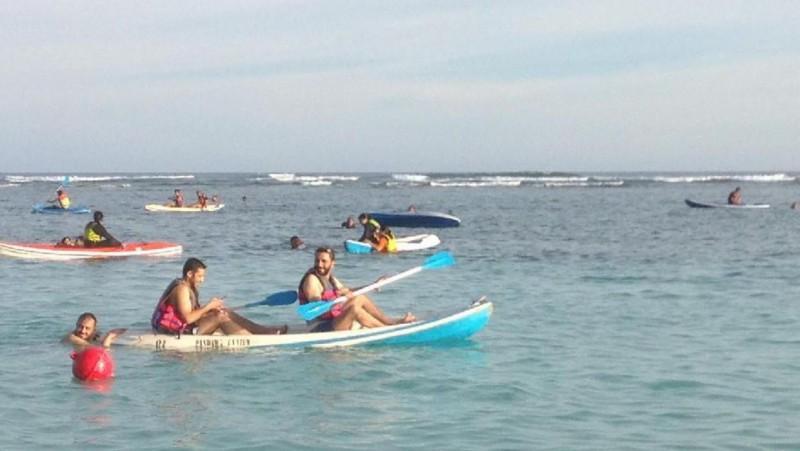 Rombongan Raja Salman di Pulau Pandawa