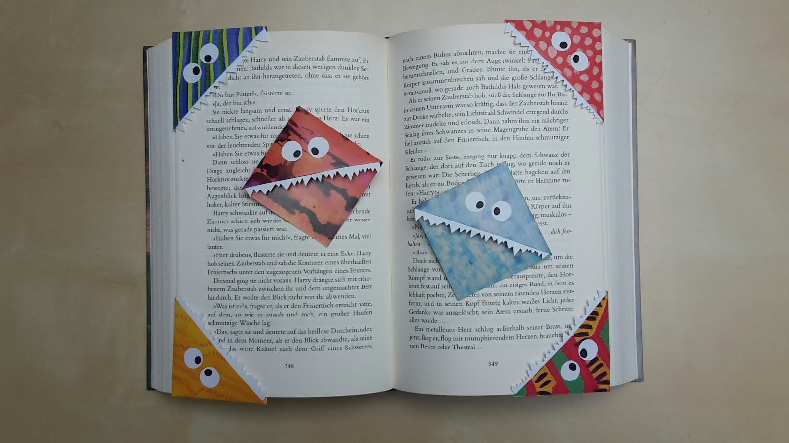 Wunderschön Lesezeichen Basteln Aus Papier Galerie Von Buntes (wenn Möglich Etwas Dicker, Dann Werden