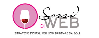 Sorsi di web Logo Header web site blog food wine vino cibo