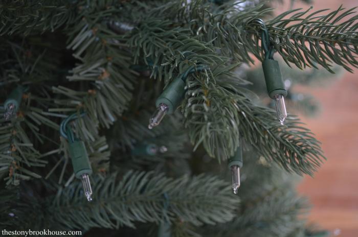 Christmas Tree Light Bulb Base - Green