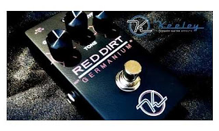 Keeley  Red Dirt Germanium Overdrive (Pedal Efek Gitar)