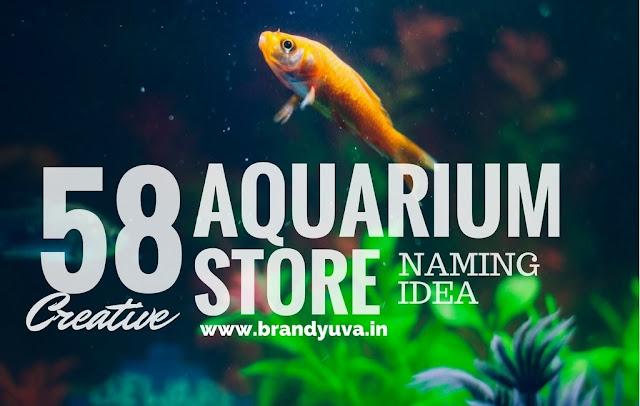 aquarium shop names idea