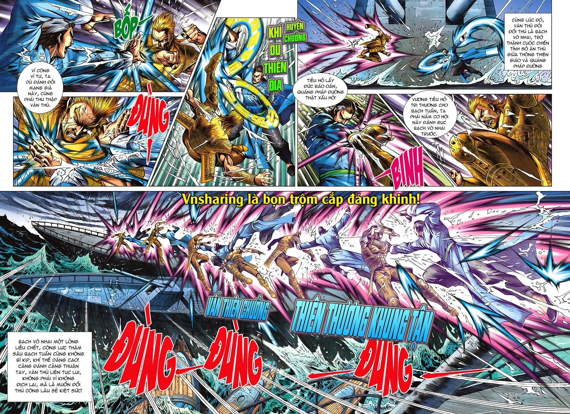 Tân Tác Long Hổ Môn Chap 606 page 8 - Truyentranhaz.net